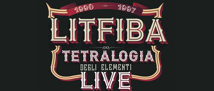 Litfiba Tetralogia Live