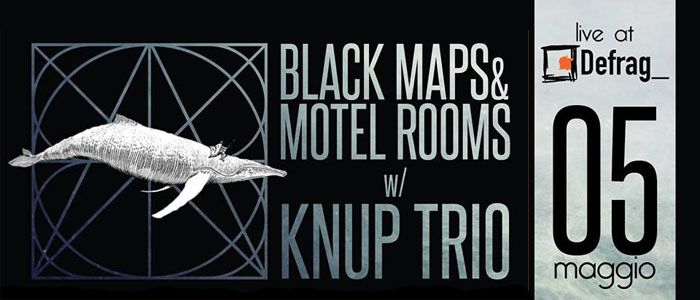 Black Maps & Motel Rooms Knup Trio