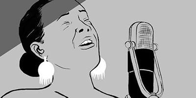 Il blues di Lady Day a fumetti