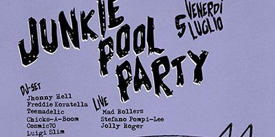 Junkie Pool Party!